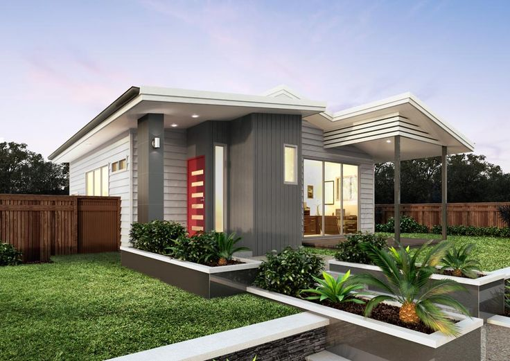 Granny flat build option #4: A dual-residence home, double the occupants for double the rental returns! #grannyflats