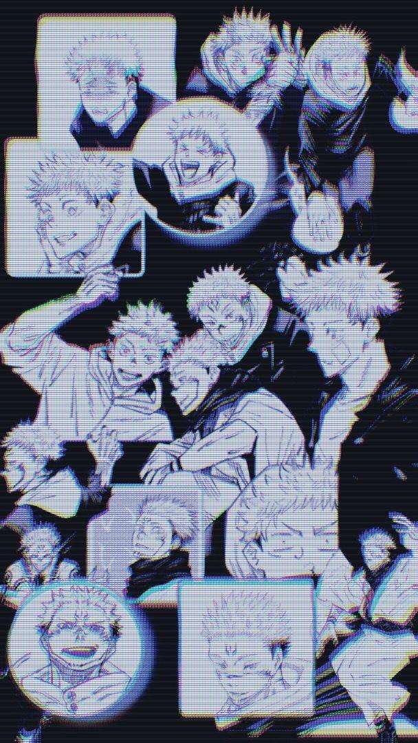 Sukuna And Itadori A E S T H E T I C W A L L P A P E R S Anime Wallpaper Iphone Wallpaper Girly Cute Anime Wallpaper