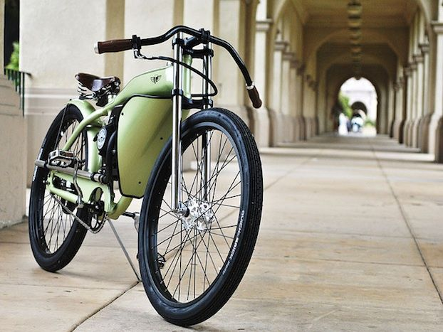 Custom Painted Motorized Bicycles