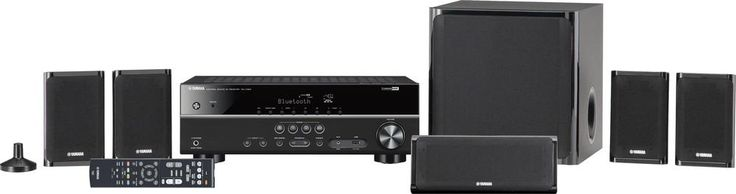 Yamaha - 2-Ch. 3D Home Theater System - Black