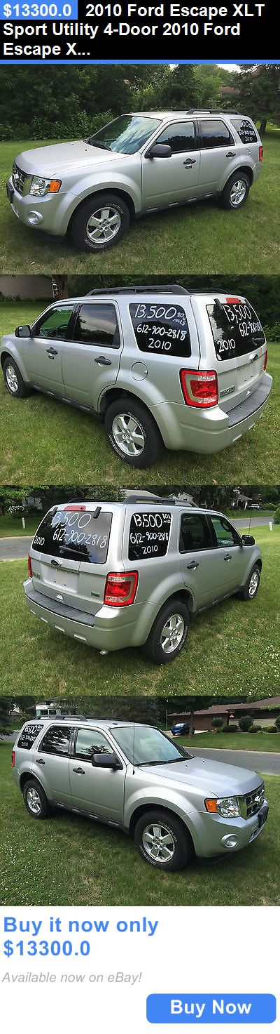 SUVs: 2010 Ford Escape Xlt Sport Utility 4-Door 2010 Ford Escape Xlt Only 85K Miles Automatic 4 Wheel Drive Suv BUY IT NOW ONLY: $13300.0