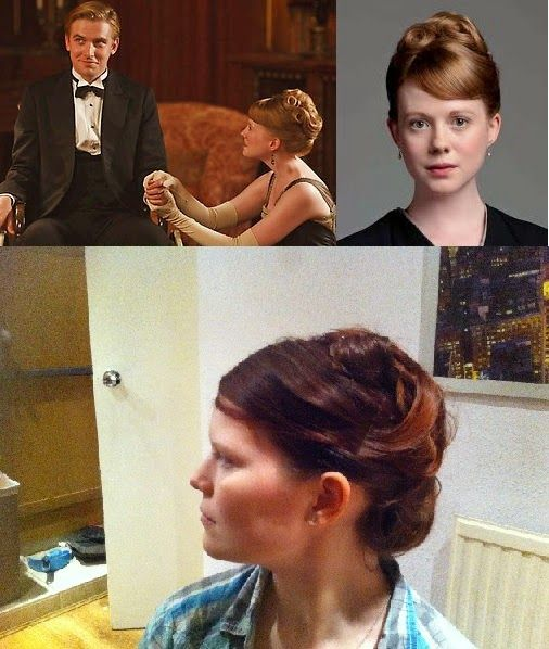 Millie French: Hair From Beyond #4: Downton Abbey's Lavinia