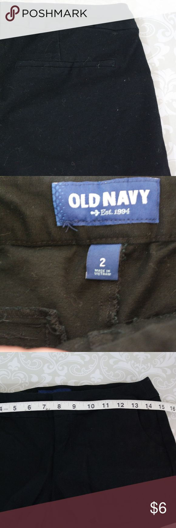 Old Navy Black Short Shorts Size 2 Excellent condition size black Old Nacy shorts.  Size 2.  Bundle your likes for my best offer.  The more items in your bundle the bigger discount I can offer!  Thank you for shopping with me!  (H) Old Navy Shorts