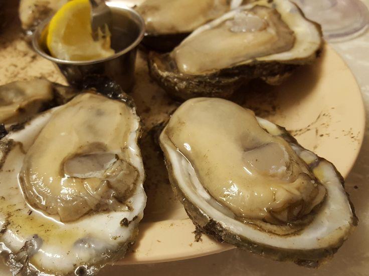 [I ate] louisiana oysters...