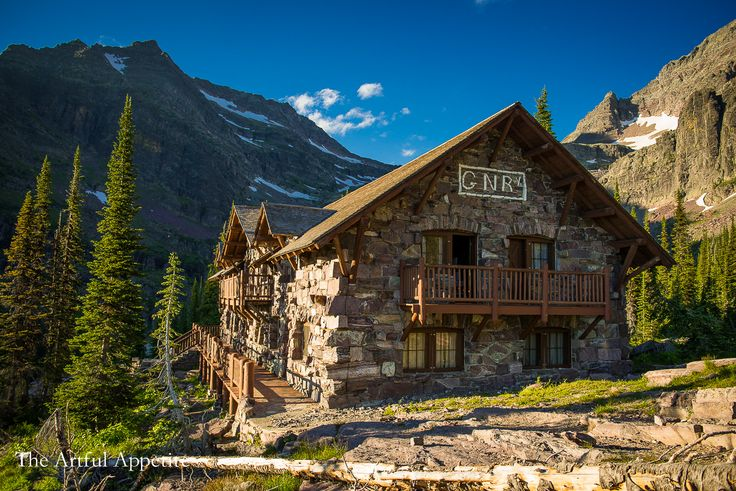 A review and description of Sperry Chalet Glacier National Park in Montana. Lodging, food, and the hike from Sperry Chalet to Sperry Glacier.