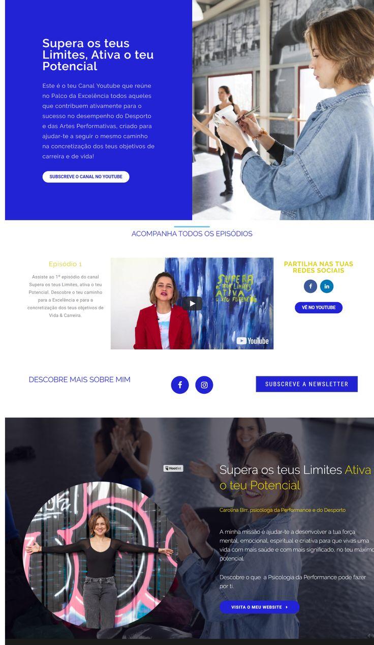 Carolina Birr / Youtube Landing Page // Mentoring Estratégico