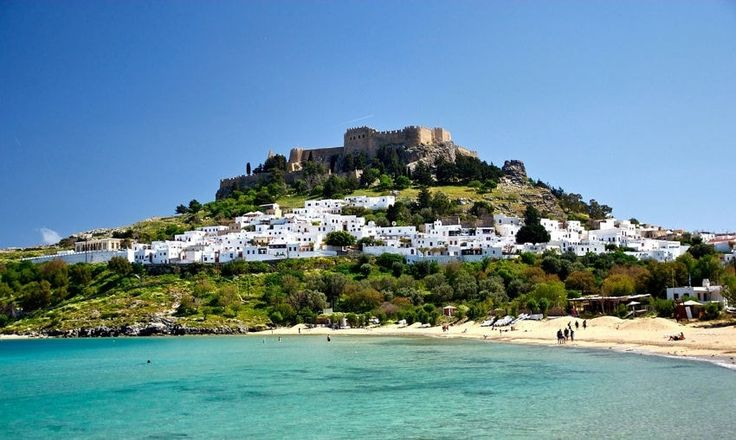 La baie de Lindos : Des paysages grecs qui vous feront oublier la crise - Linternaute