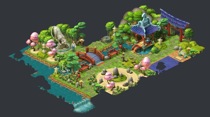 ArtStation - Gardenscapes: New Acres - Artdump, Ilia Shigin