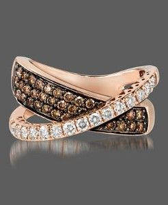 Levian Chocolate Diamond Ring - you had me at chocolate!!