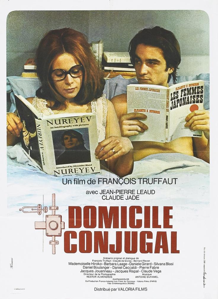 Domicile Conjugal (1970) Dir. François Truffaut