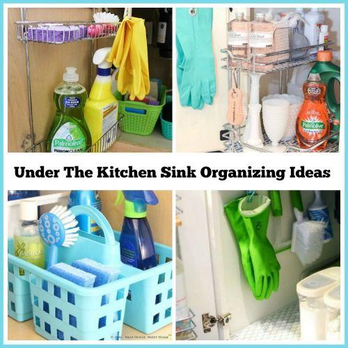 Kitchen Organization From The Dollar Store: 25+ Best Ideas About Organize Under Sink On Pinterest