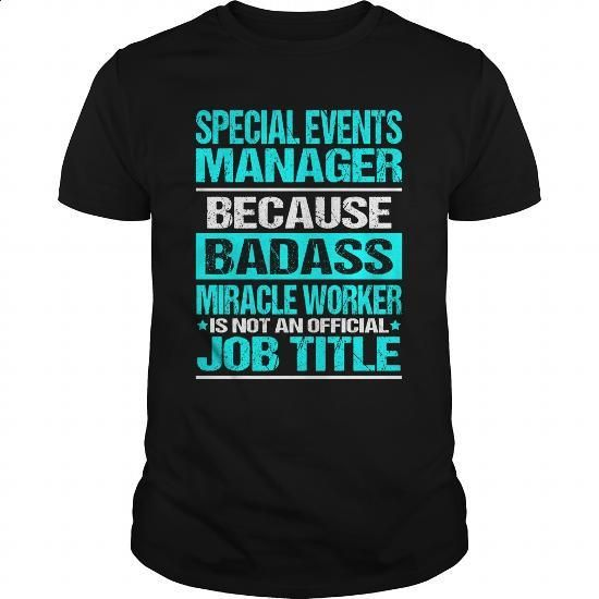 Special-Events-Manager - #plain t shirts #zip up hoodie. ORDER NOW =>…