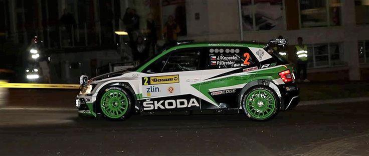 Kopecky vitez Barum Rally 2017