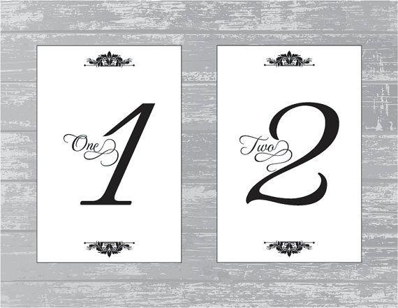 Traditional Design Wedding Reception Table by CreativePapier, $15.00