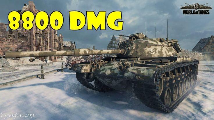 World of Tanks - EPIC! [M48A1 PATTON | 8800 DMG, 10 KILLS by _Wiki]