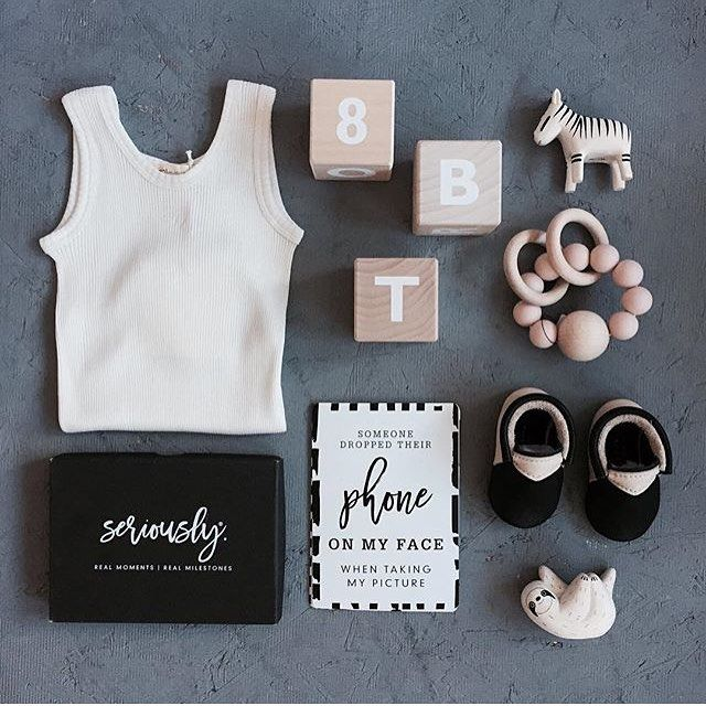 WEBSTA @ seriously_milestones - Love me a good flat lay by Nicola from @cissywears - she just seems to know what works. ...As always, tap for details. Oh - and if you were waiting on gift wrapping - it's on!