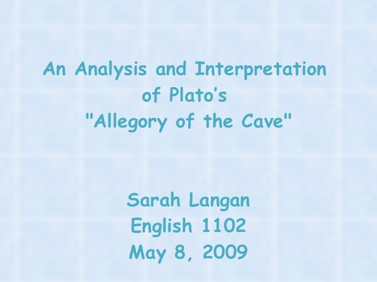 the matrix and the allegory of the cave essay Sample of allegory of the cave essay describing his allegory, plato depicts a cave neo and cypher are the prisoners of the illusory world of the matrix.
