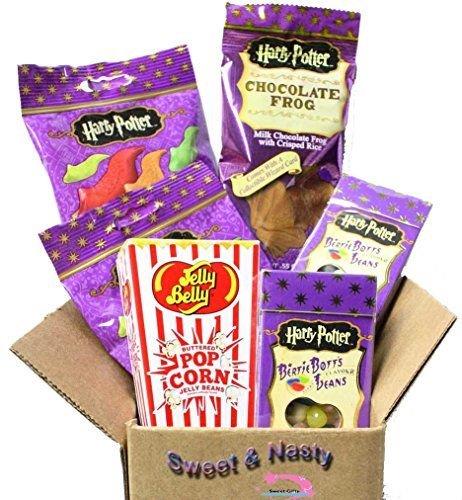 Harry Potter Fun Candy Gift Set - This gift is perfect for all Harry Potter fans and enthusiasts alike! Great for any occasion, whether it's for birthdays, holidays, etc!