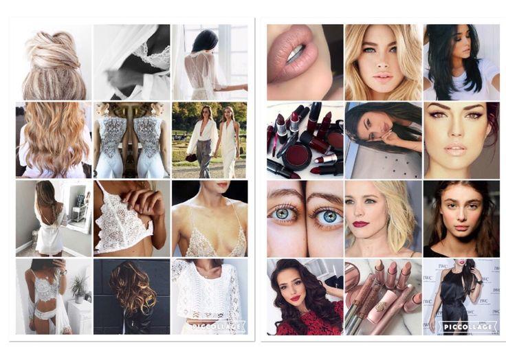 Collage för mina trendspaning bilder