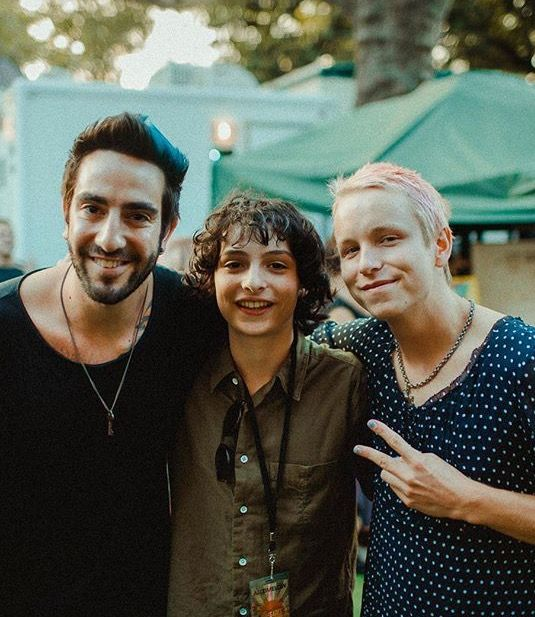 Jack Barakat, Finn Wolfhard and Cole Becker///// Aka, all my happiness in one picture