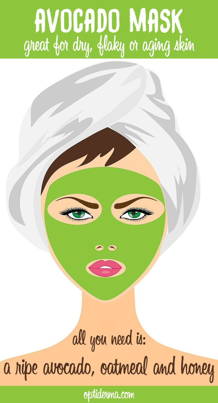 For years, people have used avocado as a natural facial treatment, especially for dry skin. Avocados help regenerate, revitalize and alkalize your skin. With their healthy fats and phytonutrients, they have remarkable moisturizing properties and skin benefits. Here's a great avocado mask recipe: http://www.optiderma.com/articles/avocados-skin-health-benefits/