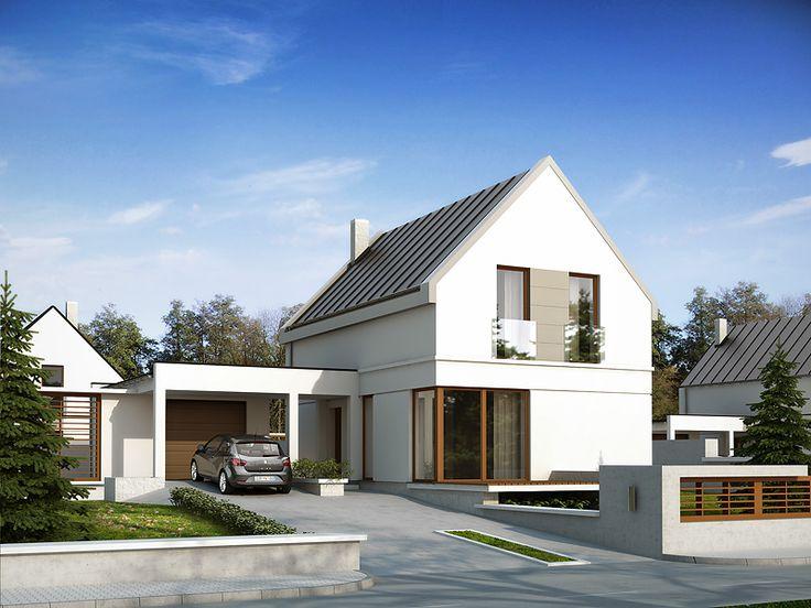 Projekt domu MT Teo 2 - DOM ST7-65 - gotowy projekt domu
