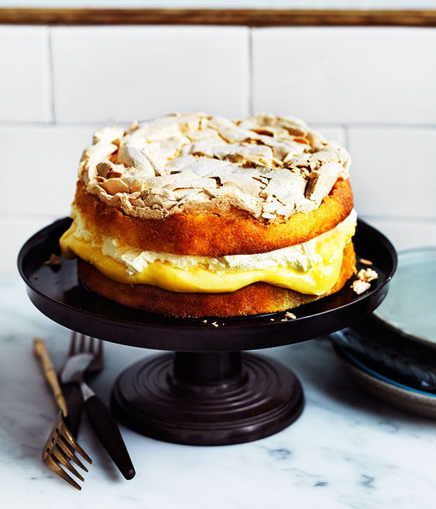 Recipe for lemon dream cake by Nadine Ingram from Sydney bakery Flour & Stone.