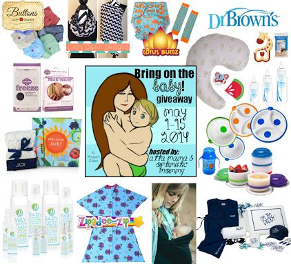 Bring On The Baby Giveaway Event ~ Ends 5/15. $650 Baby Prize Package