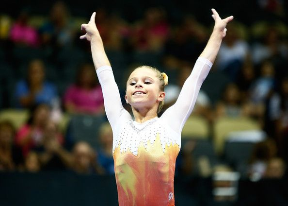 Ragan Smith Photos Photos - Ragan Smith competes on the balance beam in the junior women finals during the 2014 P&G Gymnastics Championships at Consol Energy Center on August 23, 2014 in Pittsburgh, Pennsylvania. - P&G Gymnastics Championships