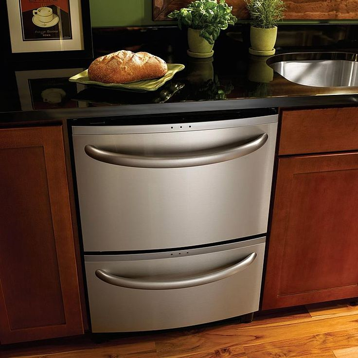 """Kenmore Elite - 31334 - 24"""" Double Drawer Dishwasher with Sliding & Variable Position Tines (1334) 