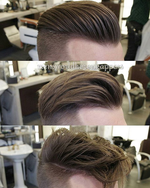 1 haircut, 3 styles...#Undercut #Hairstyles ✅ Product used for all hairstyles : Shaper from @hairbond ✌ #Hairmenstyle #TheBarberpost #Barbersinctv #BarbershopConnect #Fashiorismo #Zaramen #menshair #menstyle #mensfashion #barbergang #barberlife #barberlove #barberworld #coolhair #quiff #pompadour #gentlemen #slickback #menshairstyle #menslook #cutoftheday #kapper #barber #barbershop #haircut #haircuts #Hengelo #Meppel