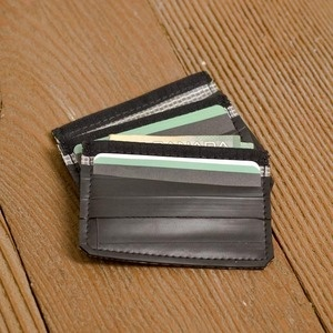 Recycled Bicycle Inner tube Card Carrier wallet