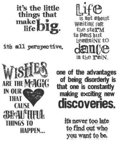 Amazon.com:   Stampers Anonymous Tim Holtz Cling Rubber Stamp Set, Good Thoughts    Price: $17.59 & eligible for FREE Super Saver Shipping on orders over 25$