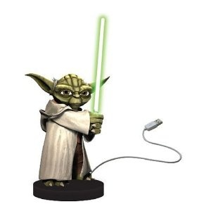 Pointless but fun - Yoda USB desk defender to ensure nobody takes your last biscuit or sneaks a look at your next presentation :)