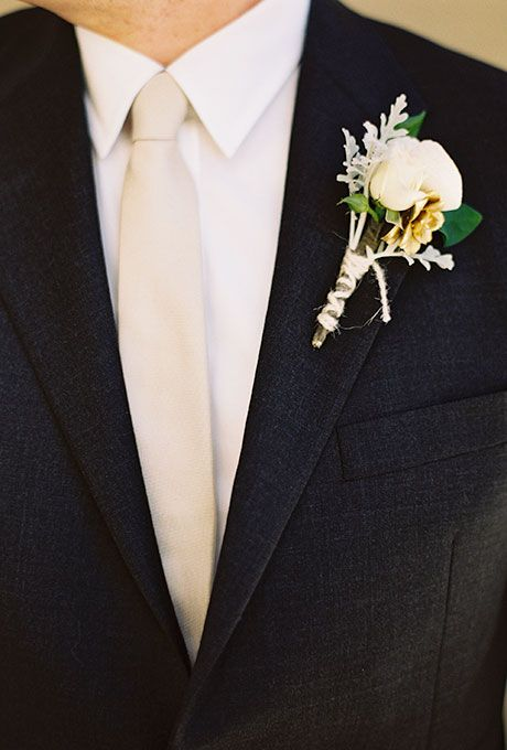 Grooms Boutonniere Ideas Wedding, Brides and Succulent boutonniere
