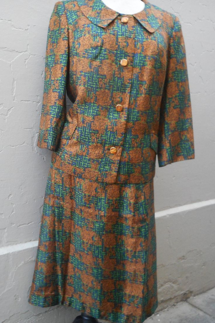David Jones 60's suit by recycology on Etsy