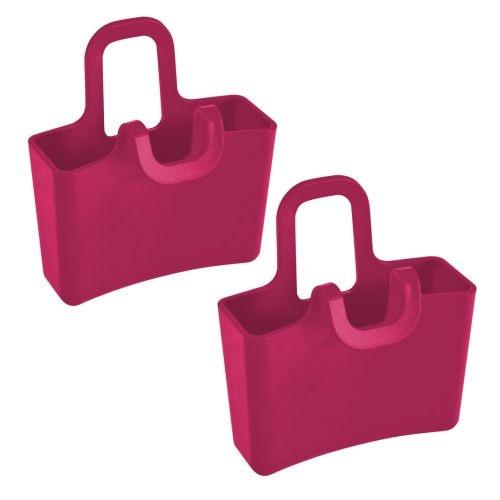 Koziol minibag/theebag holder Lilli framboos rood