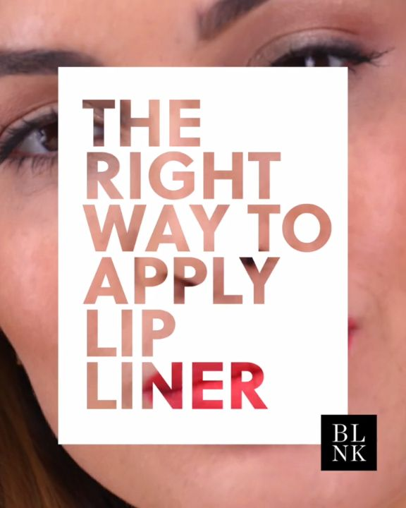 The Right Way To Apply Lip Liner