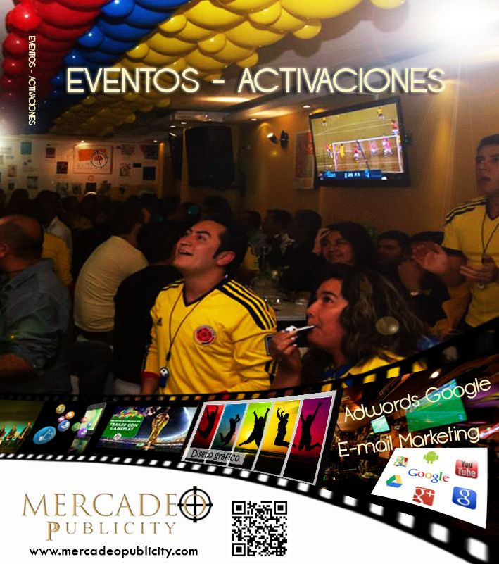 Activaciones de marca en puntos de venta, análisis de portafolio de servicios, muestreo, campañas de recordación de marca. www.mercadeopublicity.com