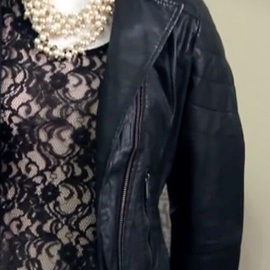 You can make your leather jacket look dainty in a variety of different ways depending on your preferences.