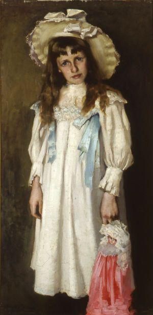 Hugh Ramsay, 'Jessie with doll', 1897.