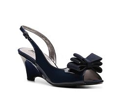 J. Renee Krissie Wedge Sandal. I would not call this a sandal. But it is a practical dress shoe.