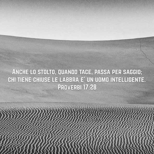 Proverbi 17:28