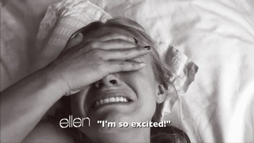"""When she showed Kristen Bell some sloths and Kristen freaked. 