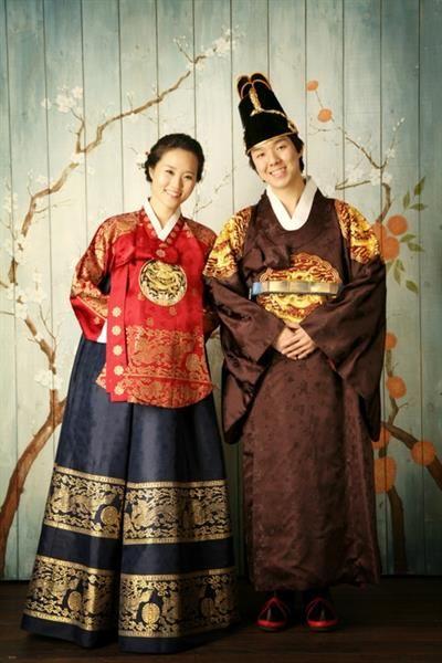 Национальный костюм южной кореи