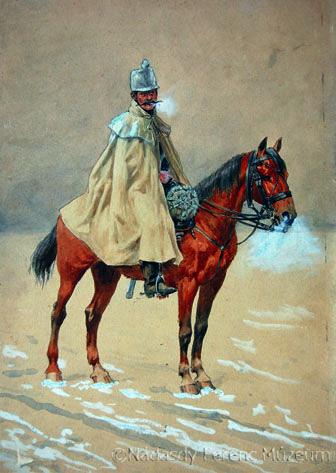 Ismeretlen festő: Liechtenstein huszár