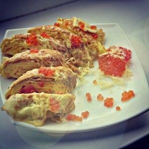 Омлет по-японски рецепт – завтраки. «Афиша-Еда»