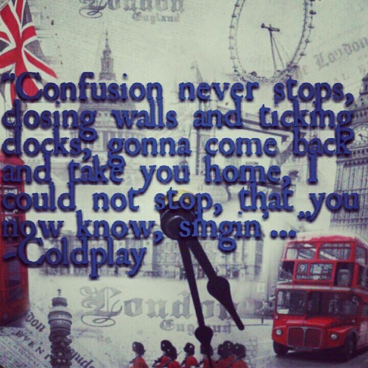 yeah, that's me - singin' Coldplay ;)