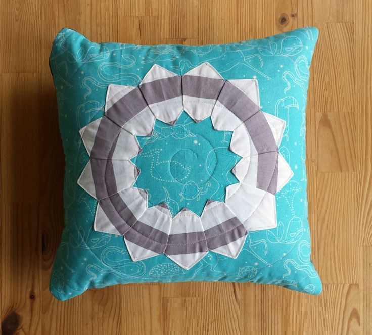 Constellations Star Dresden Cushion back - thREDhead: Some Little Finishes