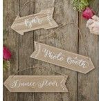 Holzschilder Boho | Bar | Dance Floor | Photo Booth | wood | Wedding | Hochzeit | Pfeil | arrow